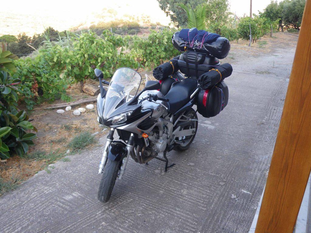 Viaggiare in moto si pu facile ecco come - Quanti bagagli si possono portare in crociera ...