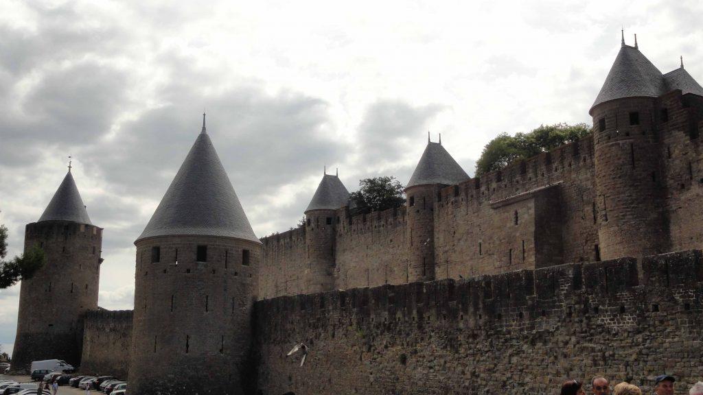 i castelli di Carcassonne