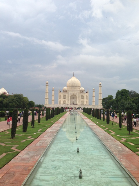 India del nord da backpacker
