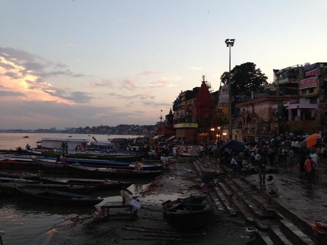 Tramonto a Varanasi