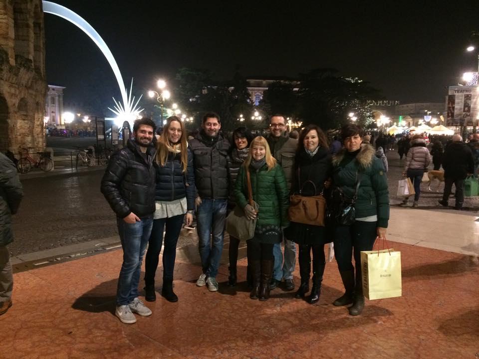 Team A&V Pizzata di Natale 2014