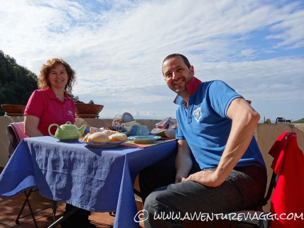 Costiera colazione sulle terrazze di Cristina