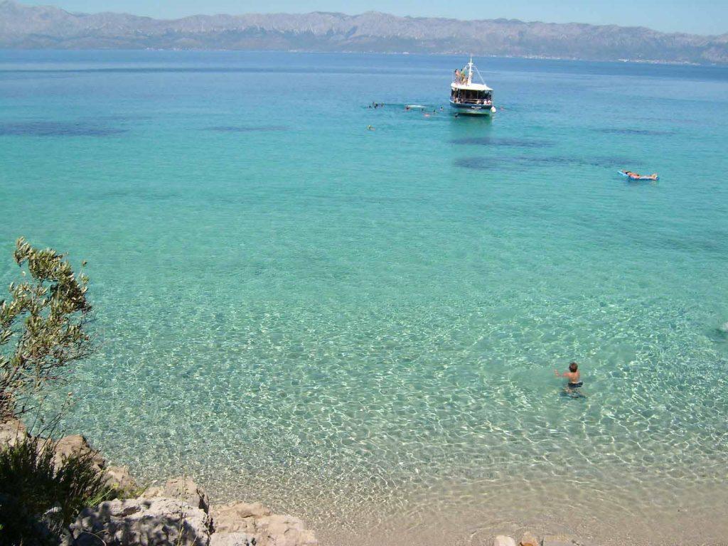 il mare di Peljesac