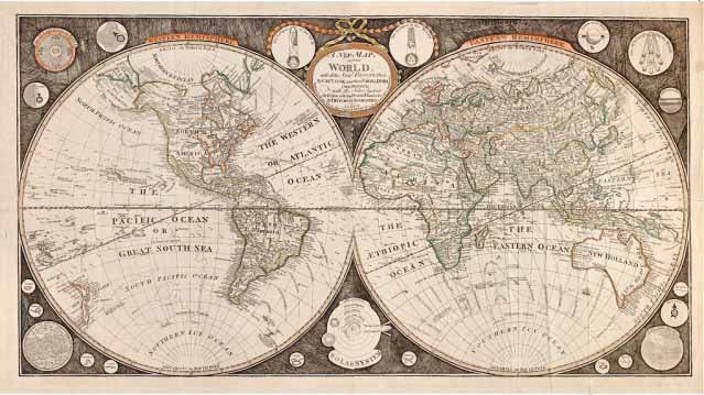 i viaggi sulla mappa