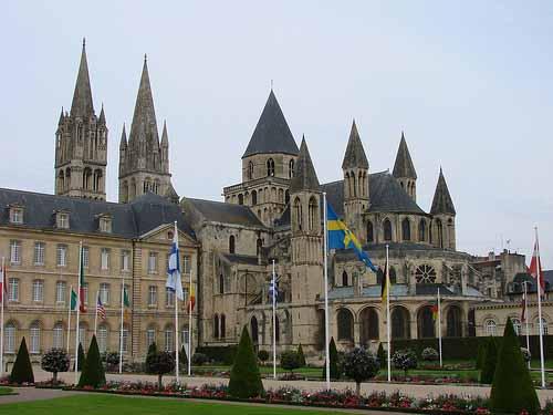 I palazzi di Caen