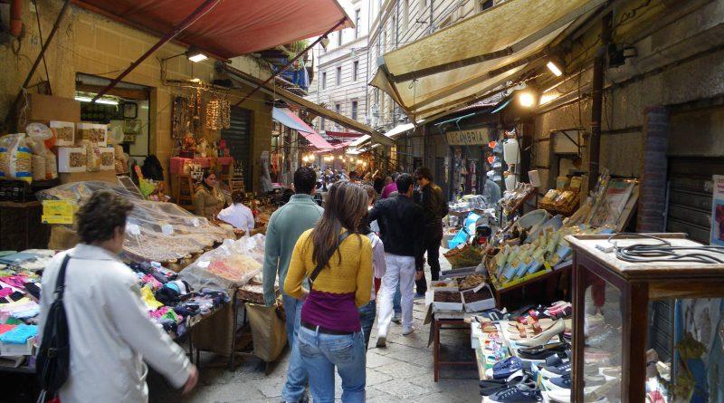 Mercato a Palermo