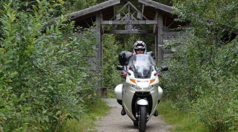 Caponord in moto