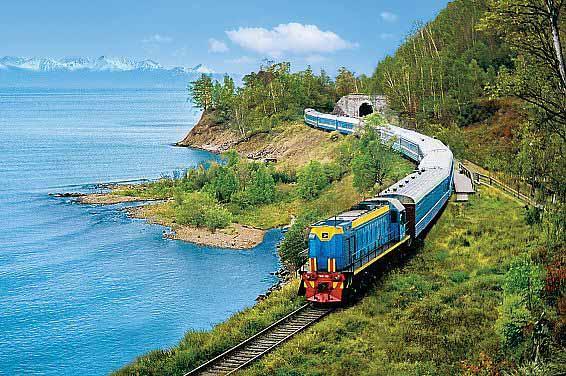 Transiberiana in treno