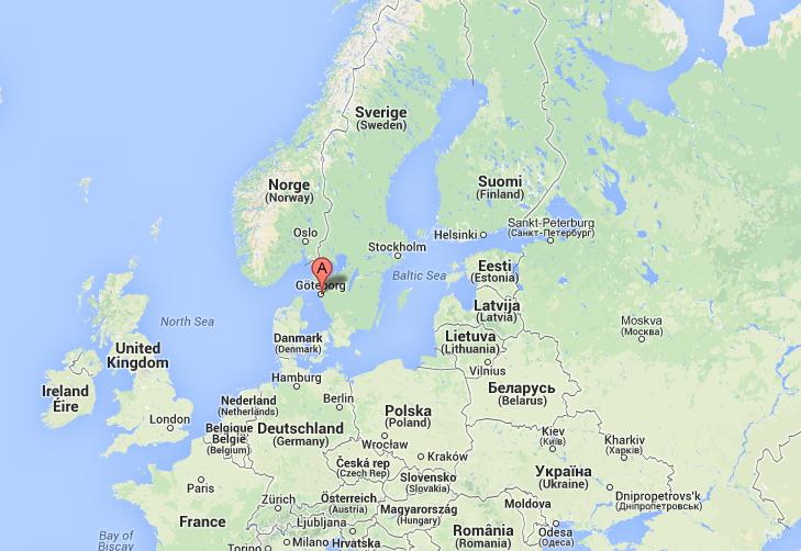 In Svezia: Goteborg