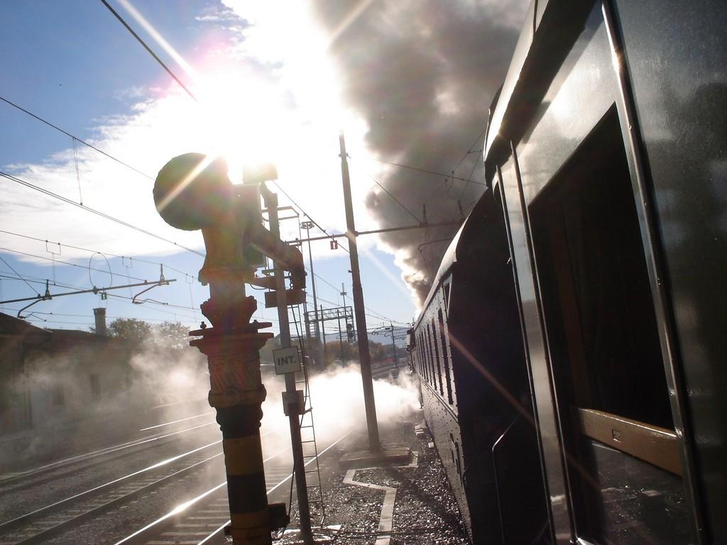 Viaggiare in treno a vapore
