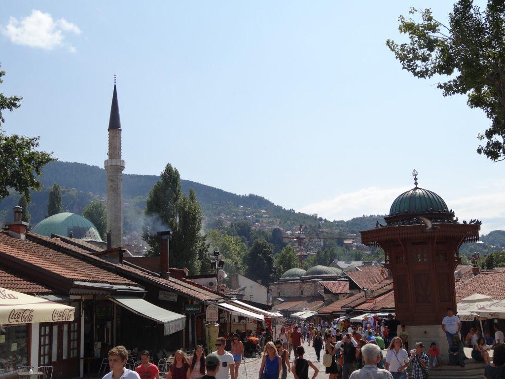 Sarajevo old center