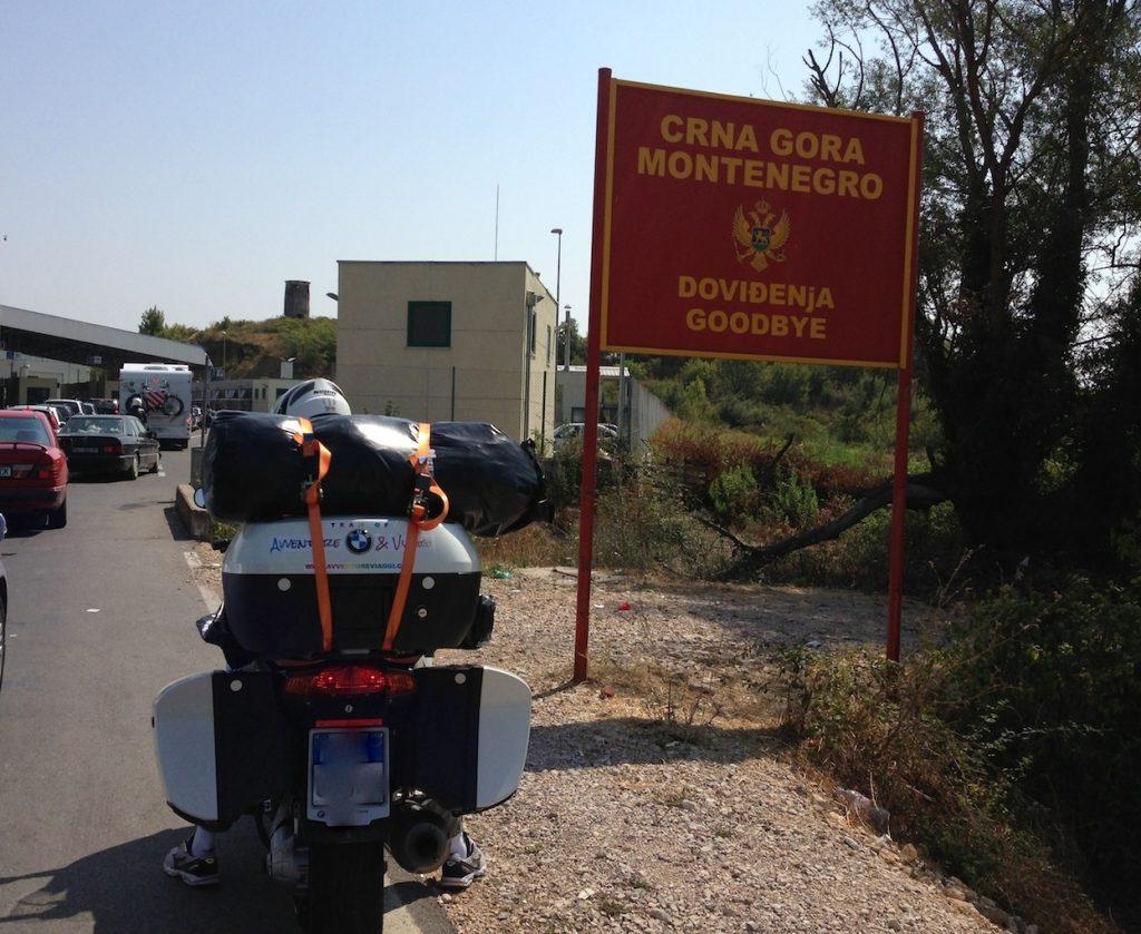 Uscita dal Montenegro