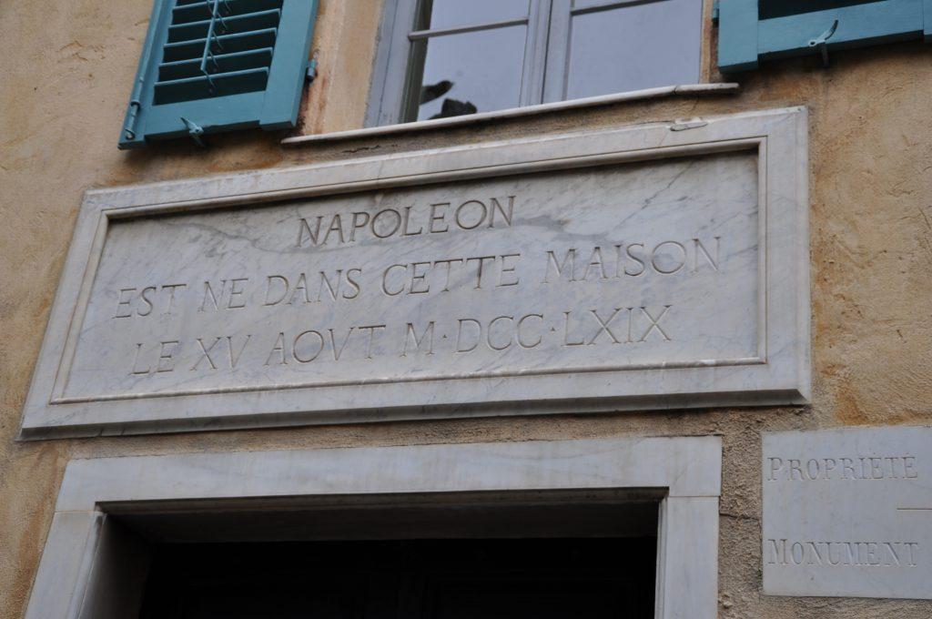 ajaccio napoleone
