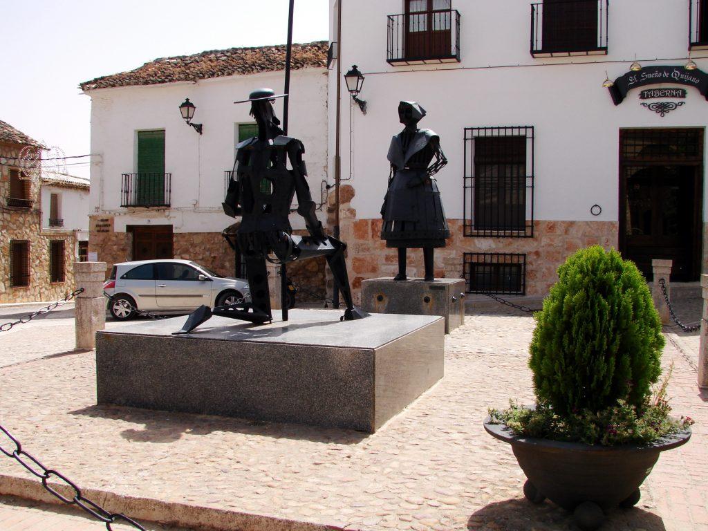 sculture a El Toboso