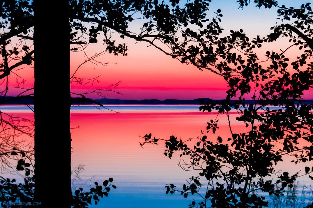 tramonto coloratissimo
