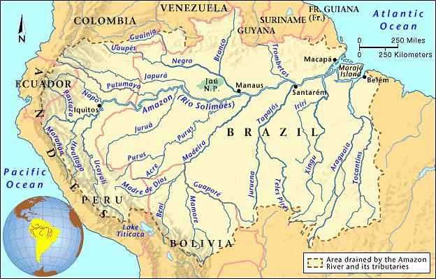 Fiume Rio delle Amazzoni