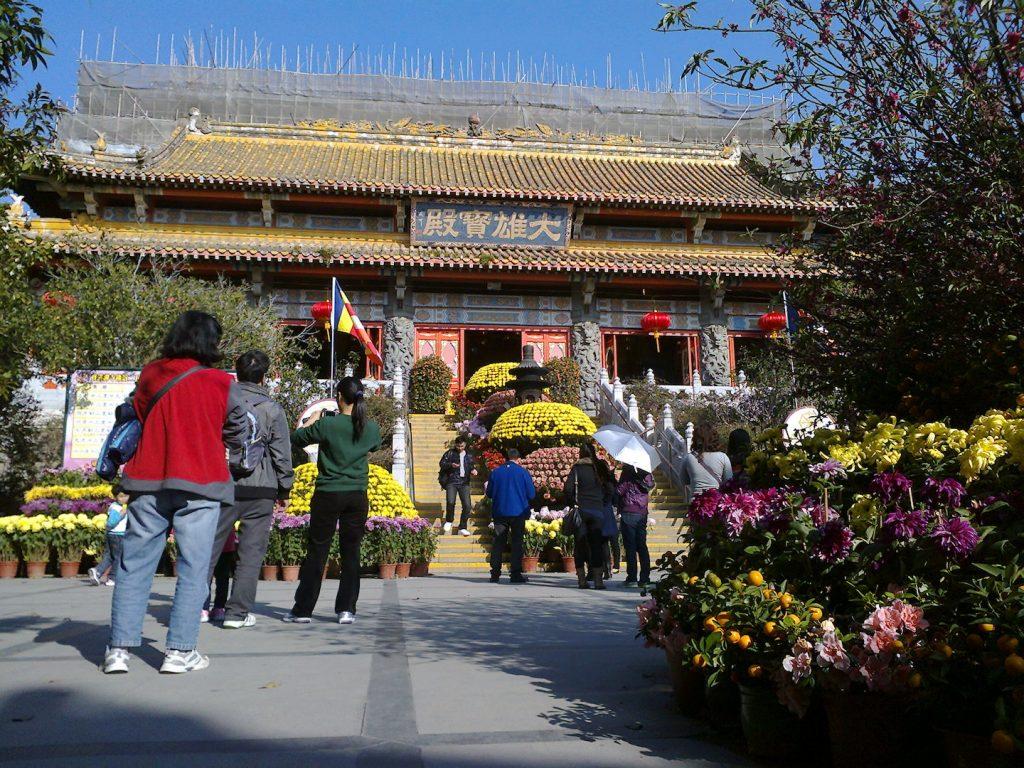 tempio buddista di lantau