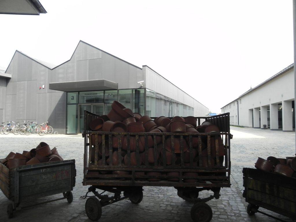 pentolame della fabbrica di Schindler