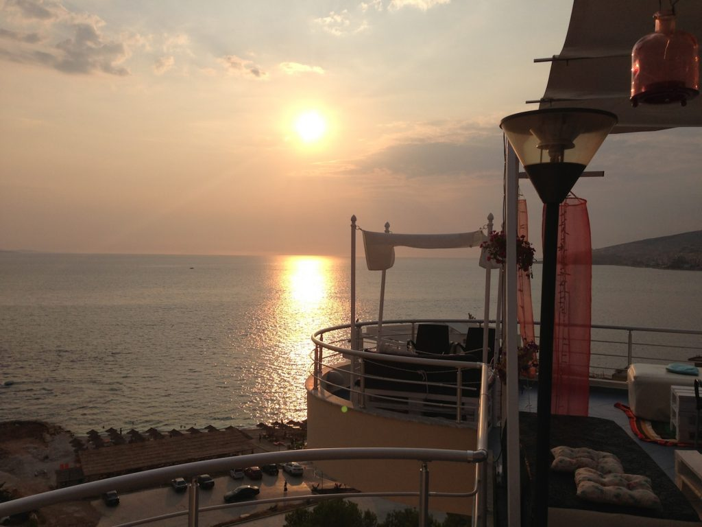 sunset albanian