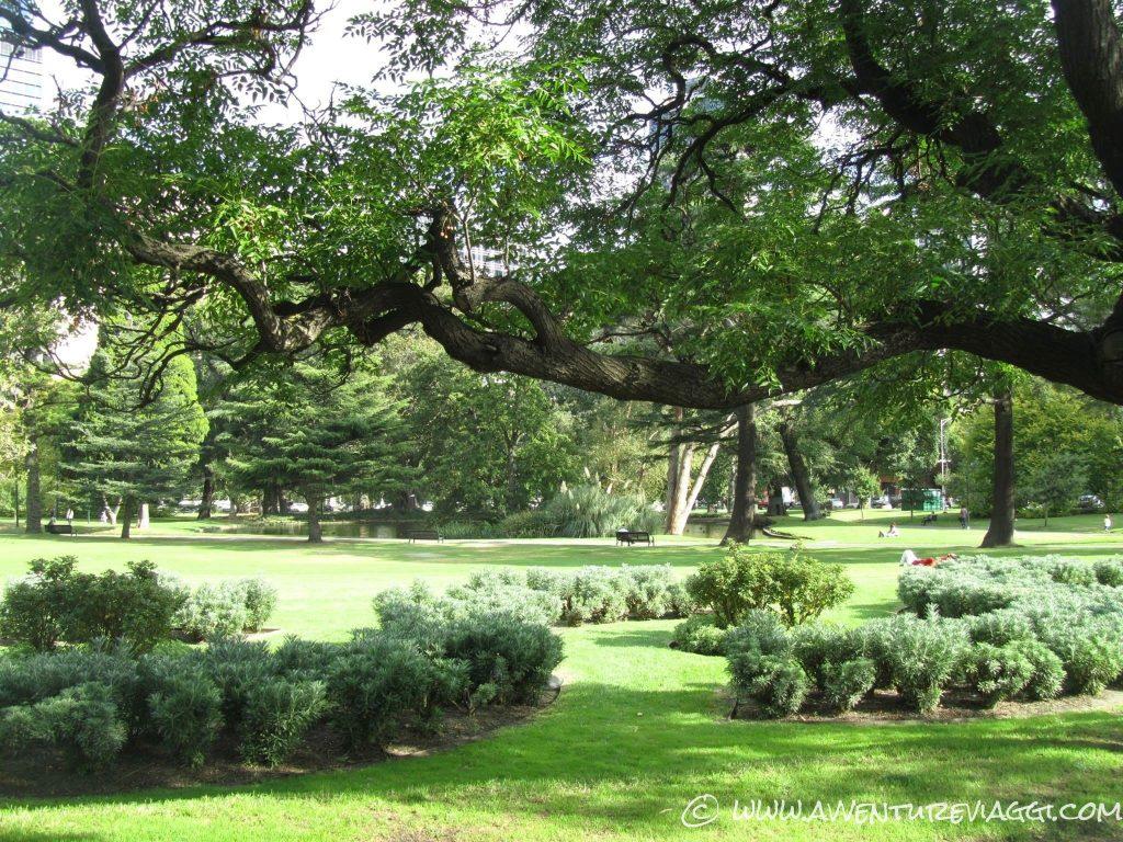 Green park Melbourne