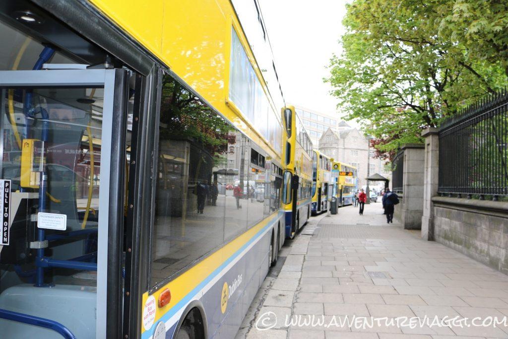 Bus Dublino Irlanda A&V