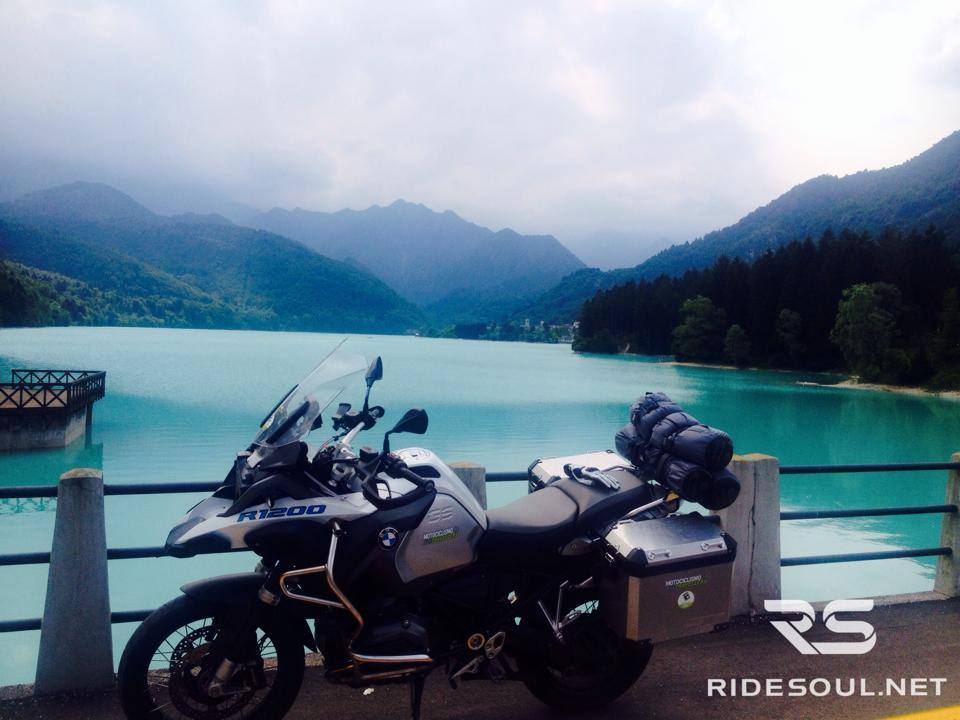 Lago di Barcis #fammistrada GSA