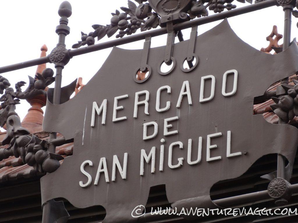 Mercado de San Miguel insegna