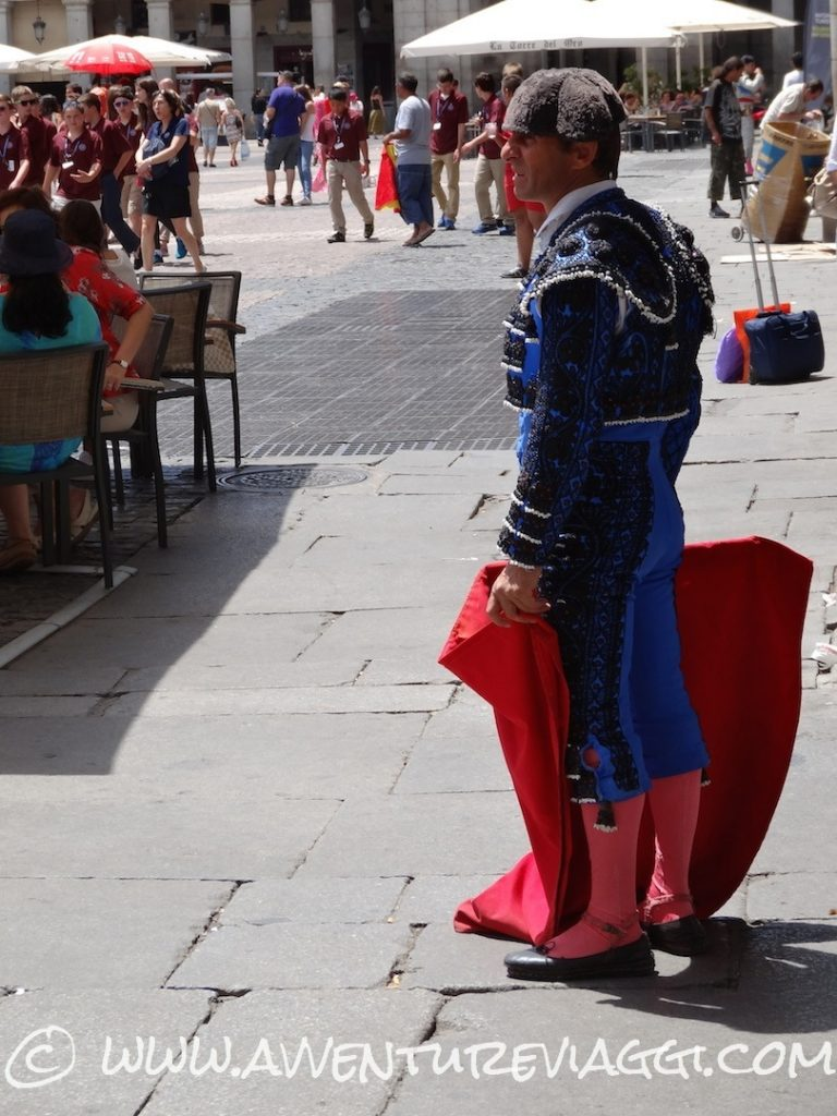 Torero in Plaza Mayor