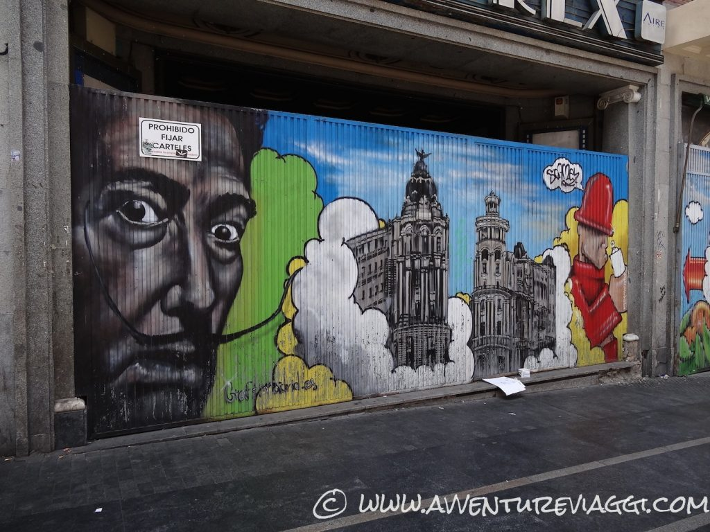 paint art wall Madrid