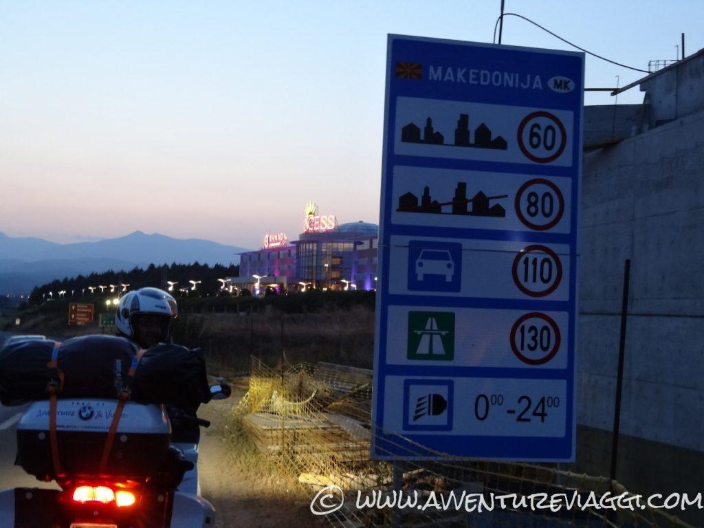 Ingresso in  Macedonia