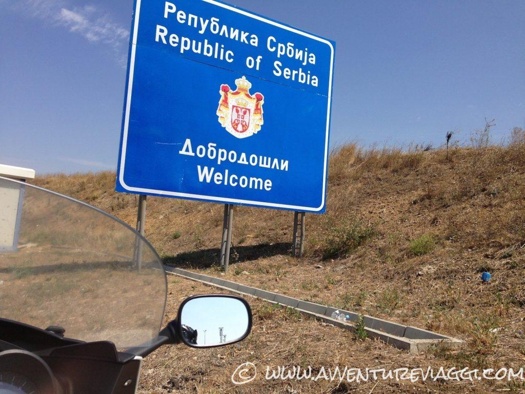 Ingresso in Serbia