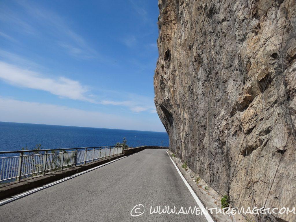 costiera Amalfitana on the road
