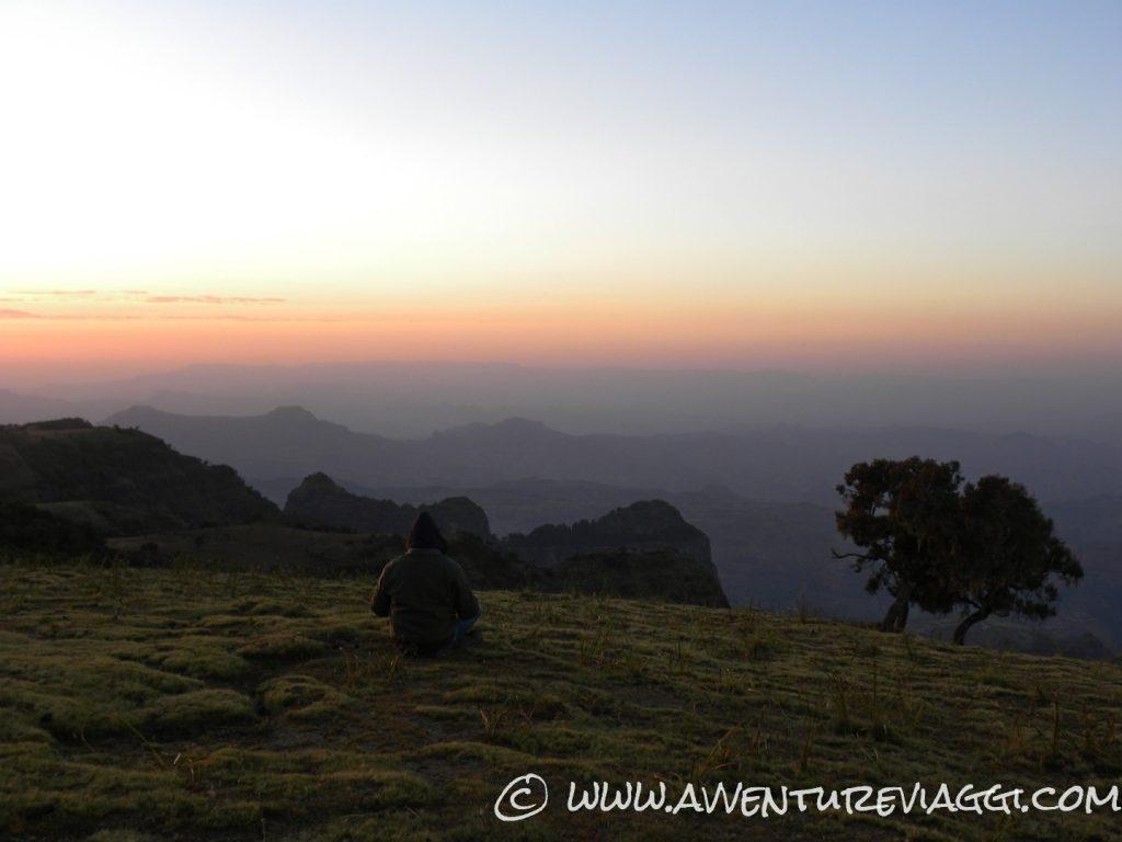 Trekking sui Monti Siamen Quota 4000 metri di altitudine