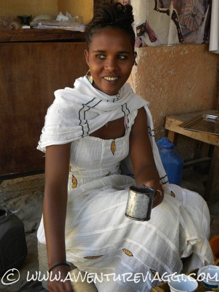 ragazza etiopia