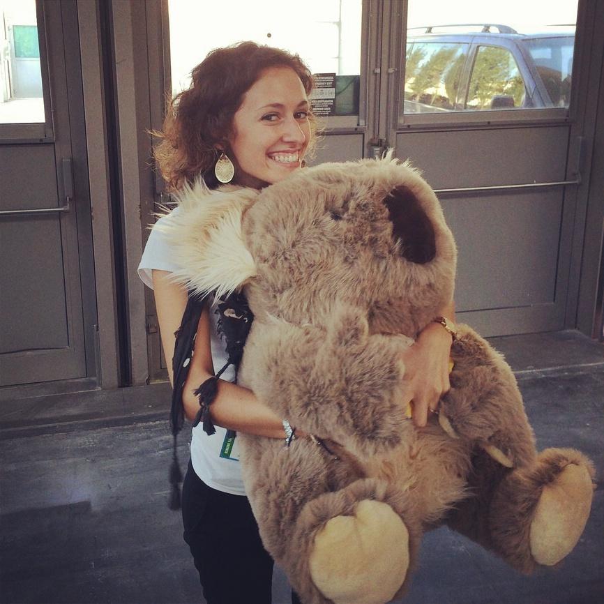 @ValeMarsi with koala TBDI 2014