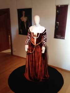 costumi d'epoca a Villa Marini  Rubelli