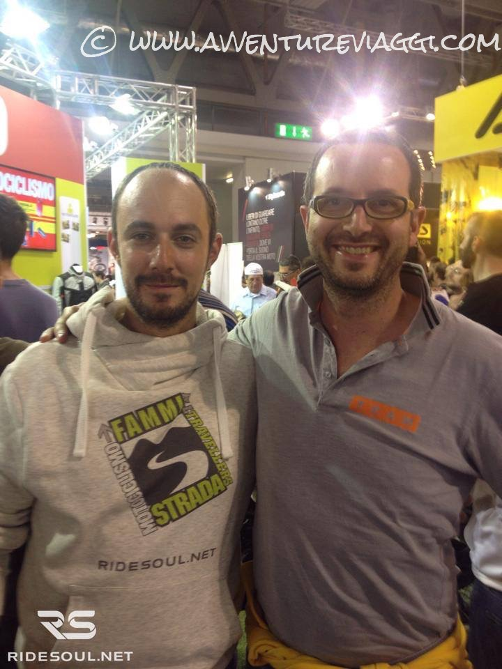Ivan e RideSoul all'EICMA 2014