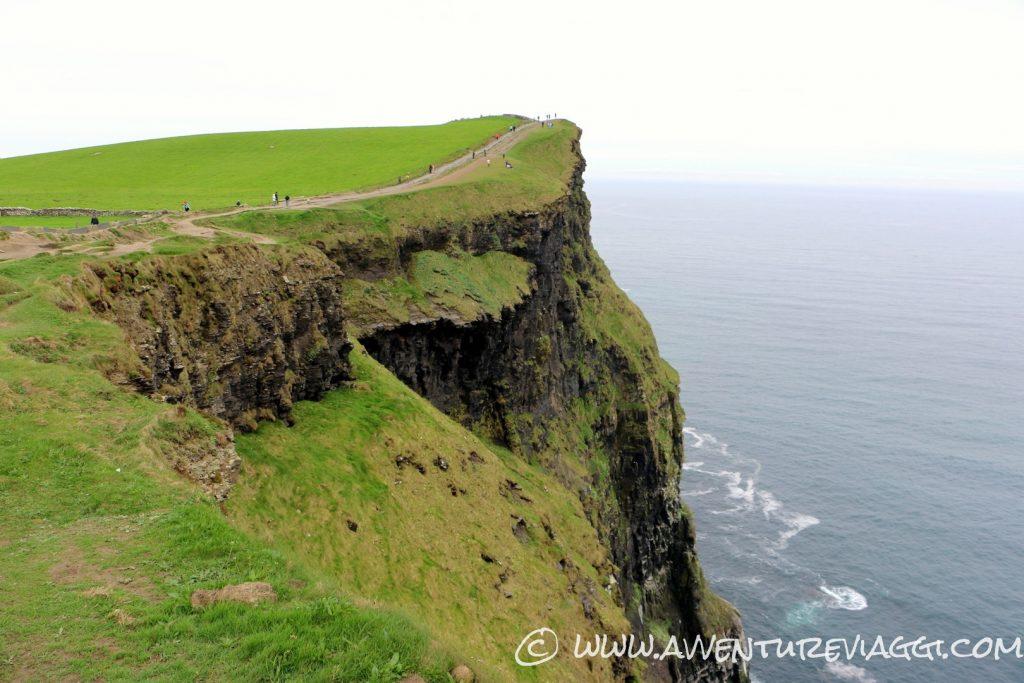verticalità sulle cliff