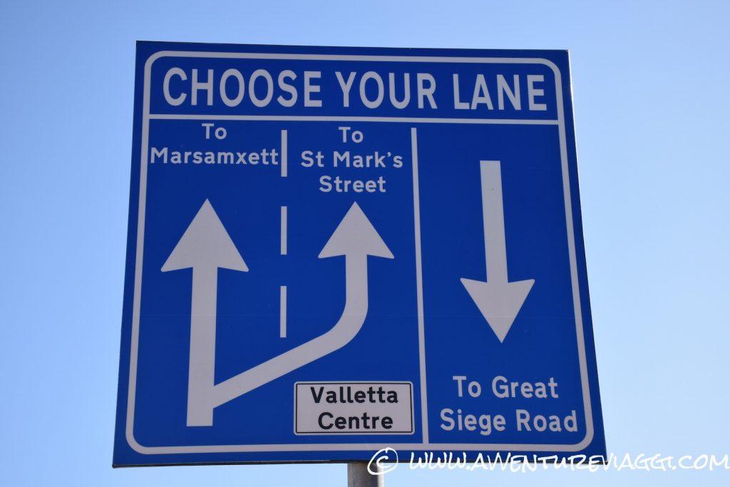 signs malta