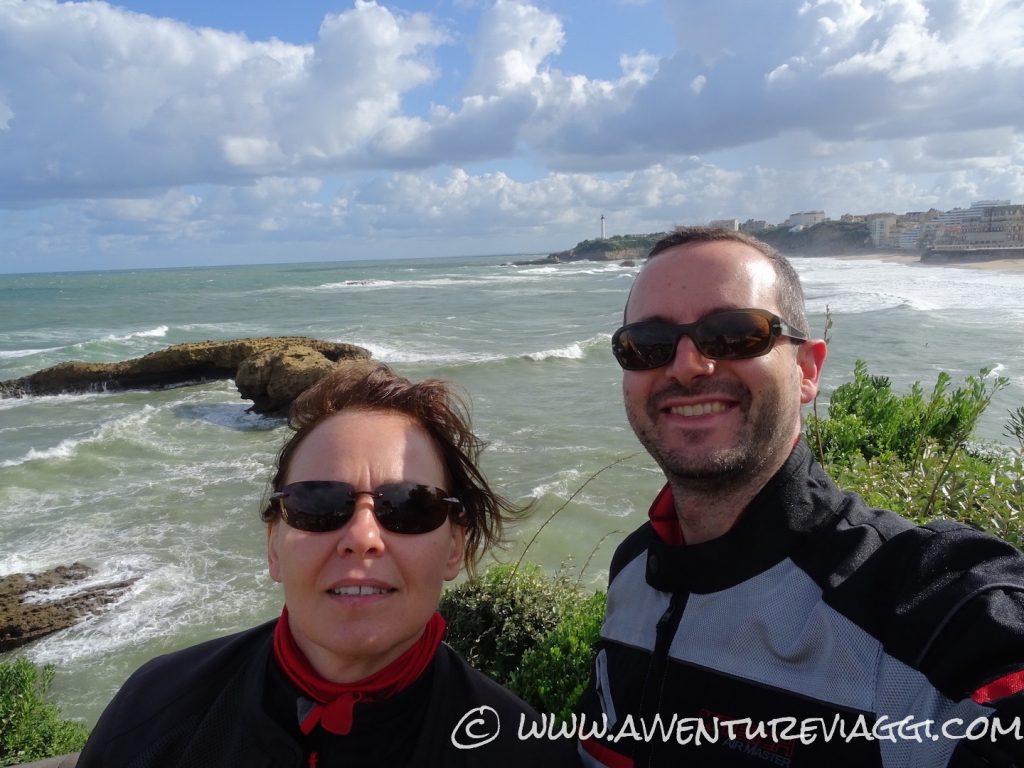 Ivan e Federica Biarritz