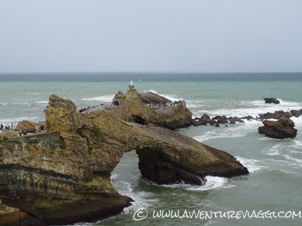 scoglio della vergine Biarritz