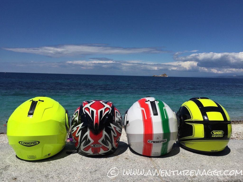 teste da casco isola d'Elba