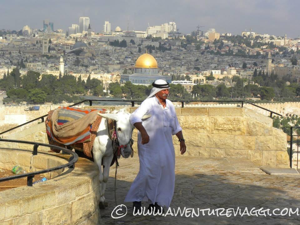 Panorama su Gerusalemme