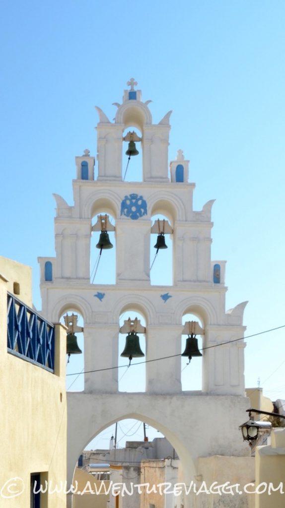 Megalochori campanile