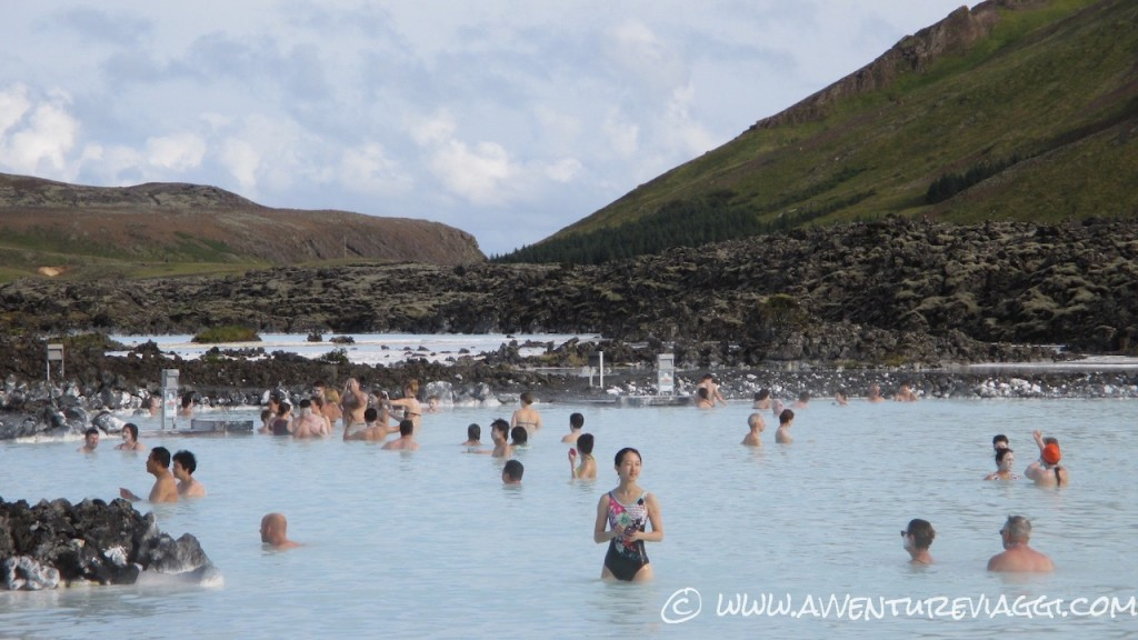 Blue lagoon Islanda