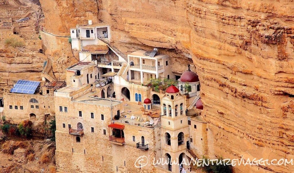 wadi qelt monastero
