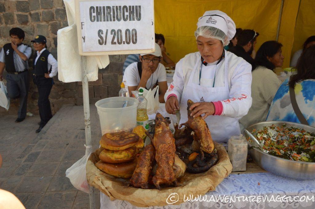 Cusco street food