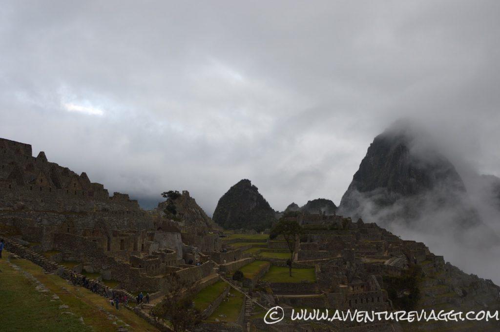 Machu Picchu arrivo