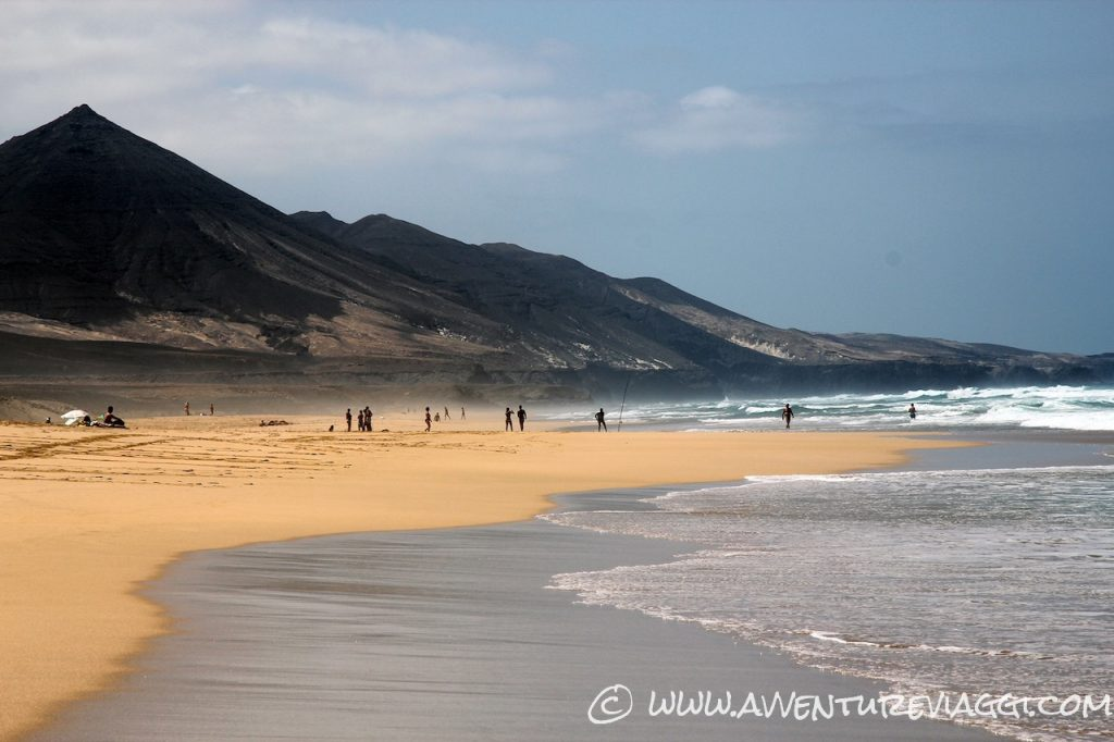 Playa de Cofete pescatori