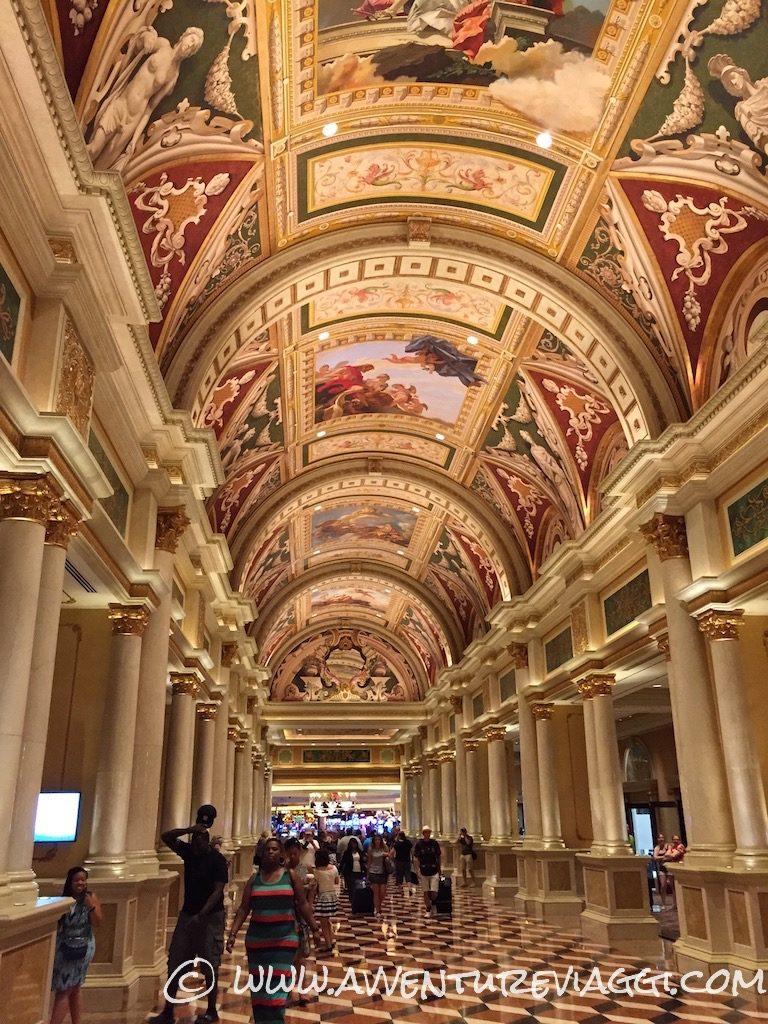 corridoi del Venetian Las Vegas